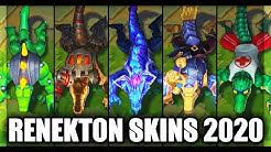 All Renekton Skins Spotlight 2020 (League of Legends)
