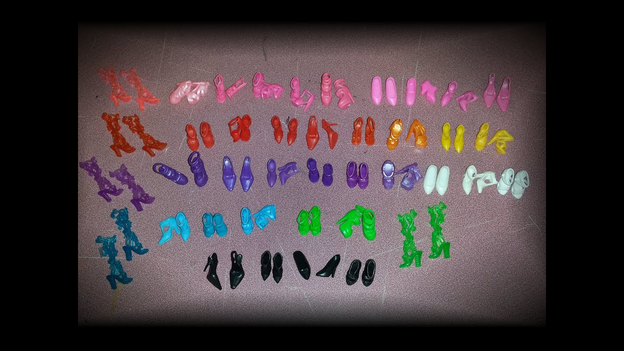 """40 Pair Shoes For 11.5/"""" Dolls Barby DollsChrismas Gifts B33 Toys"""