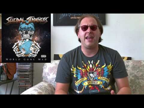 Suicidal Tendencies - WORLD GONE MAD Album Review