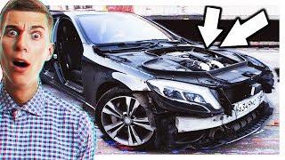 Снова Облегчил Mercedes S-Class W222! Голый Кузов!Реакция Людей! Замеры На Чипе!