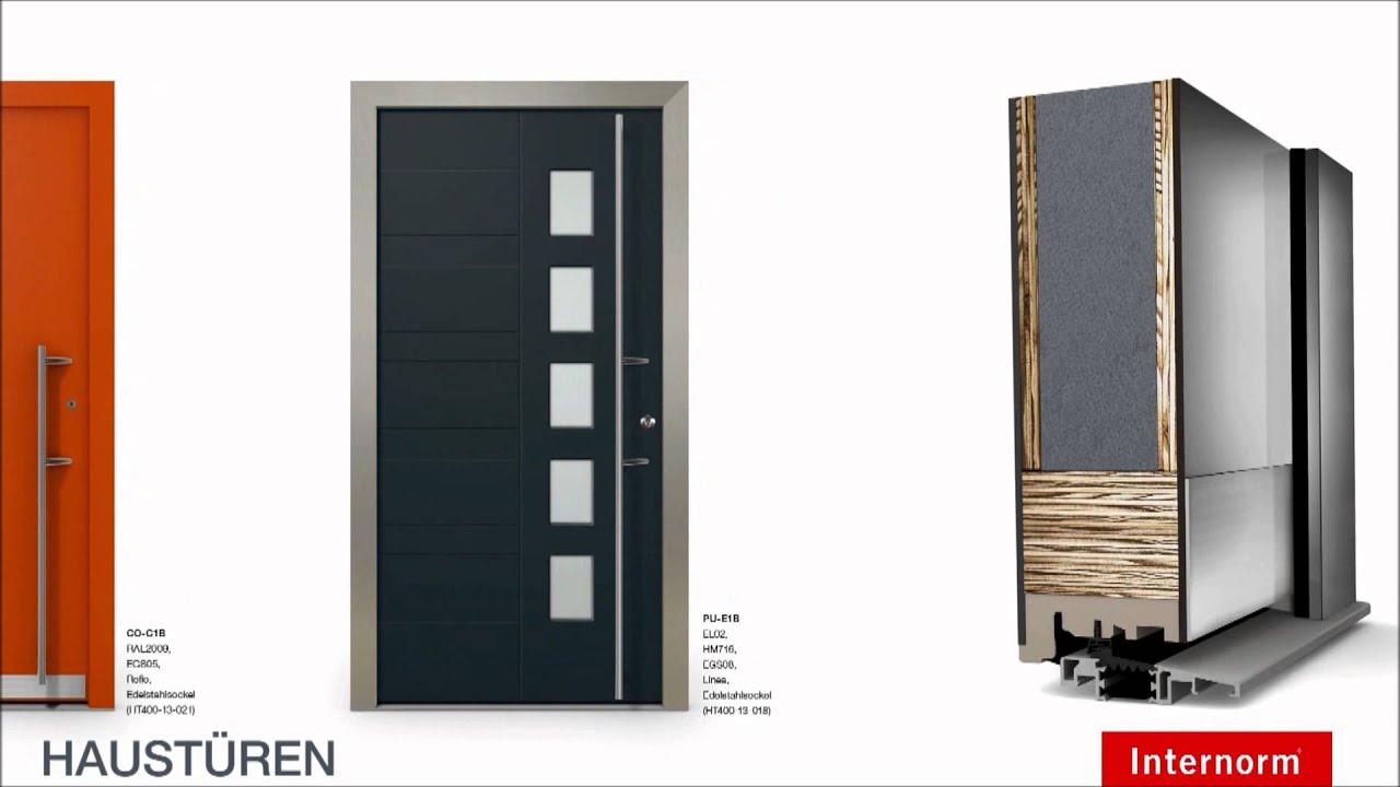 internorm haust ren youtube. Black Bedroom Furniture Sets. Home Design Ideas
