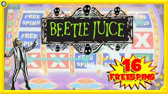 🔴 NEW SLOT Beetle Juice MIGHTY WAYS! Lots of FREESPINS 🎰