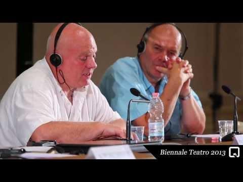 Biennale Teatro 2013 - Declan Donnellan & Nick Ormerod (incontri/meetings)