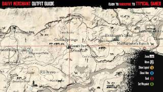 Red Dead Redemption - How to get Savvy Merchant Outfit