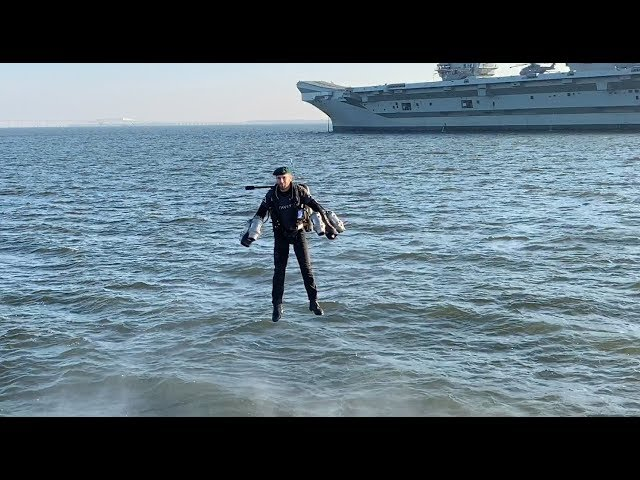 HMS Queen Elizabeth Visits Annapolis