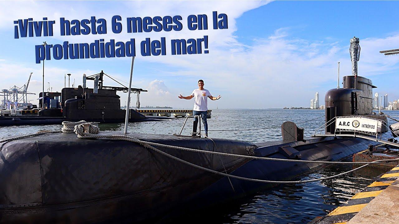 ¿Como es la VIDA a bordo de un SUBMARINO? 😮 Armada Nacional Colombiana