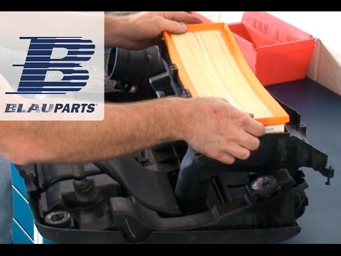 How to Replace VW Beetle, Jetta, Rabbit Air Filter on 2.5 Liter 5 Cylinder Engine
