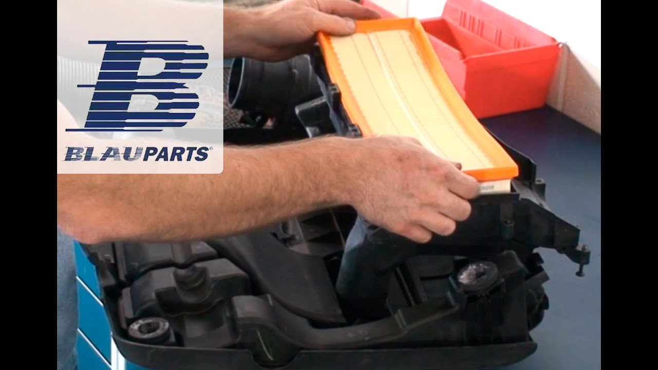 How To Replace Vw Beetle  Jetta  Rabbit Air Filter On 2 5