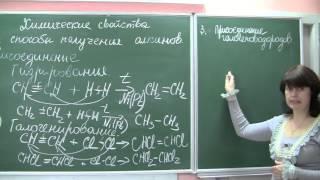 Химические свойства и способы получения алкинов