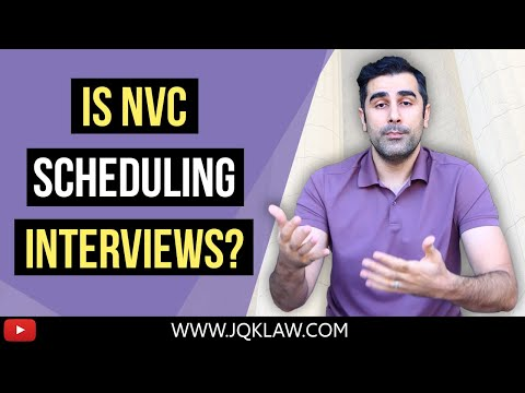 Is National Visa Center (NVC) Scheduling Interviews? [September 2020]