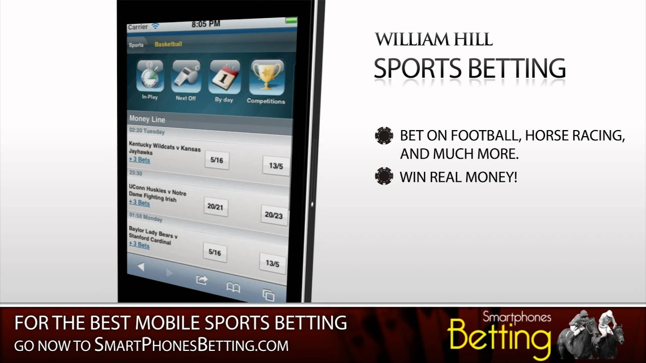 william hill mobile betting