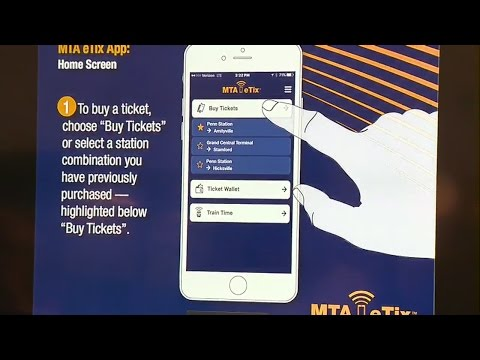 Web Extra: News conference on the new eTix app for Metro-North