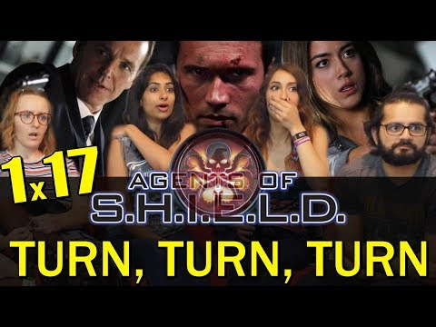 Agents of Shield - 1x17 Turn, Turn, Turn - Group Reaction