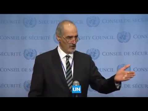 Syria names Foreign Officers Colluding with Terrorists in Aleppo  United Nations, 19 Dec   YouTube