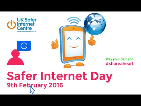 Safer Internet Day 2016 - Share a heart - YouTube
