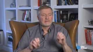 Erik Larson: Bring your book, pass it over, run