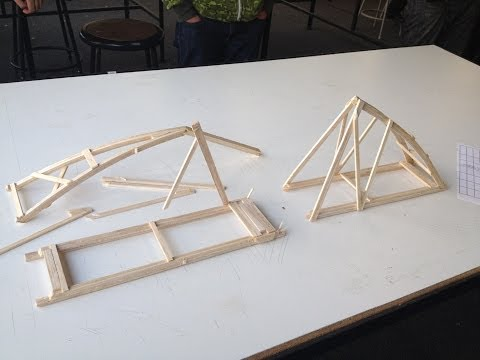 a report on the design construction and testing of balsa wood structure Nancy varughese the university of texas at austin structural model of high rise, 3rd year seismic design competition: san francisco, ca overview: project manager for construction of a balsa.