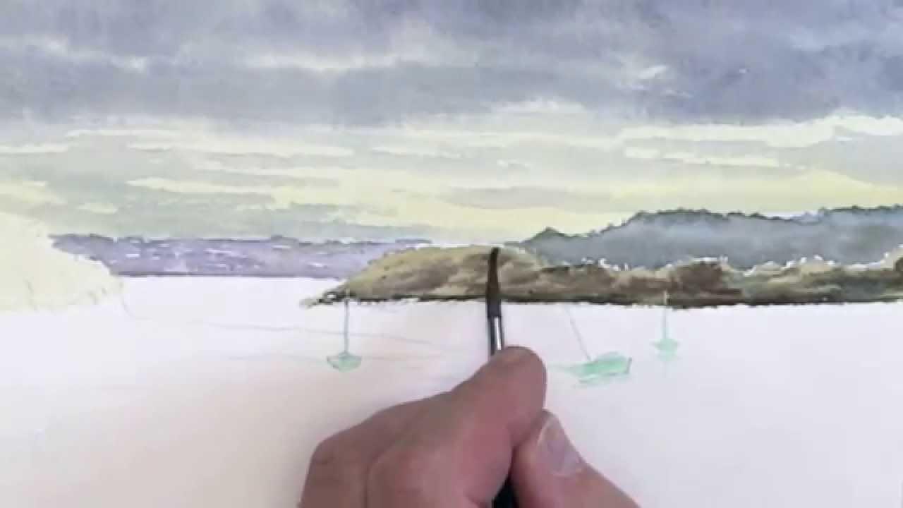 Connu Peindre un ciel breton par Alain Meyer 2015 - YouTube DM21