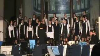 Célebre Barcarola - coro Liceo Santa Marta de Talca