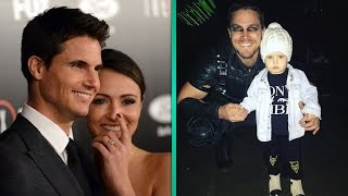 EXCLUSIVE: Robbie Amell and Italia Ricci Tease Upcoming Wedding, Stephen Amell