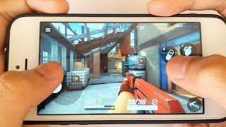 iPhone 5s: Gaming Performance Test in 2018 - Guns Of Boom Gameplay