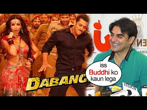 Salman Khan's Brother Arbaz Khan Makes FUN of Ex-Wife Malika Arora Being Removed from Dabangg 3