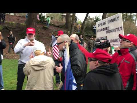 Trump Rally in Lake Oswego - March 4, 2017