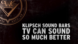 Klipsch Sound Bars: RSB-6 & RSB-11
