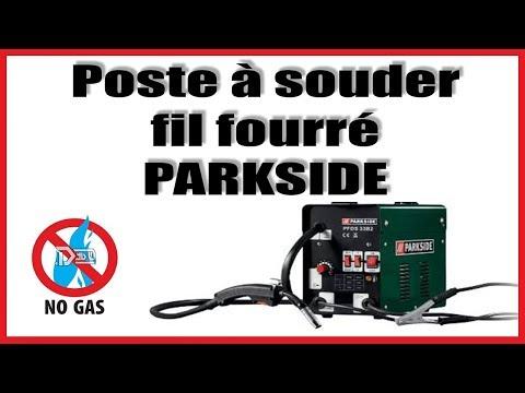 Poste à souder à fil fourré / Parkside / Lidl