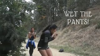 Someone Wet The Pants| Bushman Prank Funny Video| Scared To Death