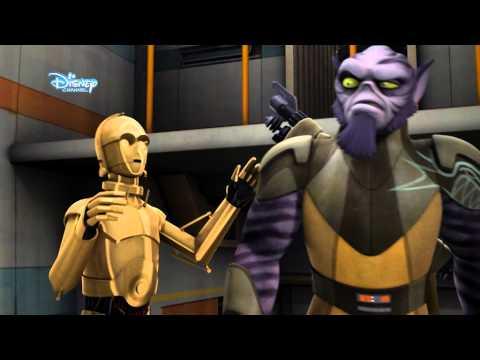 youtube filmek - Star Wars: Lázadók - 3. rész: Bajban a droidok