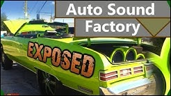 EXPOSED: Auto Sound Factory Florida | Awesome Custom Car Audio Shop w/ Extreme Installs & CLEAN Mods