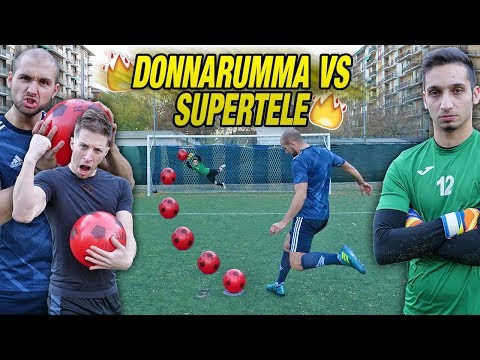 DONNARUMMA VS SUPERTELE - I2bomber Sfidano il Portiere