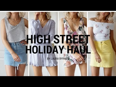 HIGH STREET HOLIDAY HAUL AND TRY ON | LAURA BYRNES