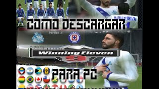 Descargar Winning Eleven 9 para pc  2016 Windows (XP,7,8.1,8,10)