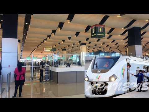 SENEGAL check out their new airport and new train 🇸🇳 Le Sénégal découvre son nouvel aéroport &..