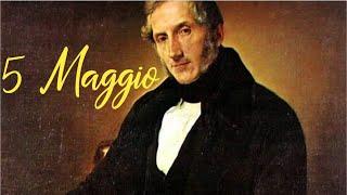 5 Maggio - Alessandro Manzoni - testo