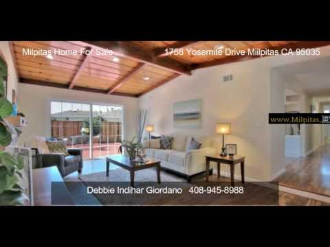 Milpitas Home For Sale 1758 Yosemite Drive (SOLD)