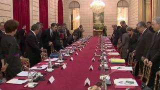 Sommet social : vifs échanges entre Nicolas Sarkozy et les syndicats