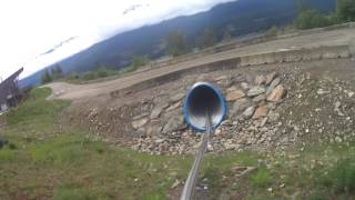 The Pipe Mountain Coaster     Adventure