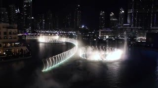 Dubai Fountain 2015 Thriller Michael Jackson  HD