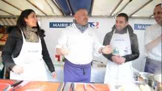 Christian Etchebest sur les marchés parisiens pour lutter contre le gaspillage alimentaire