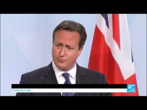 UK - Cameron claims comments on EU referendum were misinterpreted