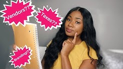 STORYTIME: HOW I STARTED MY ONLINE HAIR COMPANY | HOW TO GET STARTED