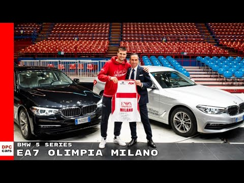 2018 BMW 5 Series Delivery To EA7 Olimpia Milano Team