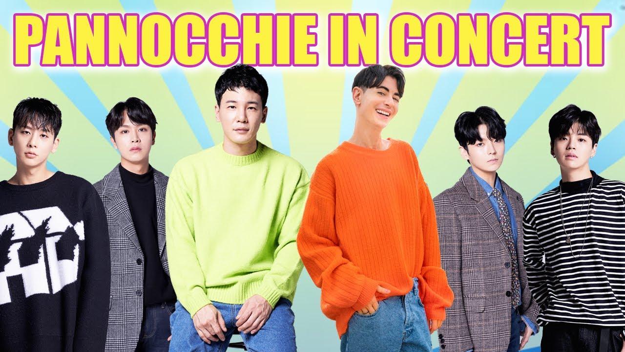 PANNOCCHIE IN CONCERT !  | Seoul Mafia Live