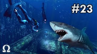 DEPTH: DIVERS VS SHARKS | #23 - OPEN WATERS ARE DANGEROUS WATERS! (60fps)