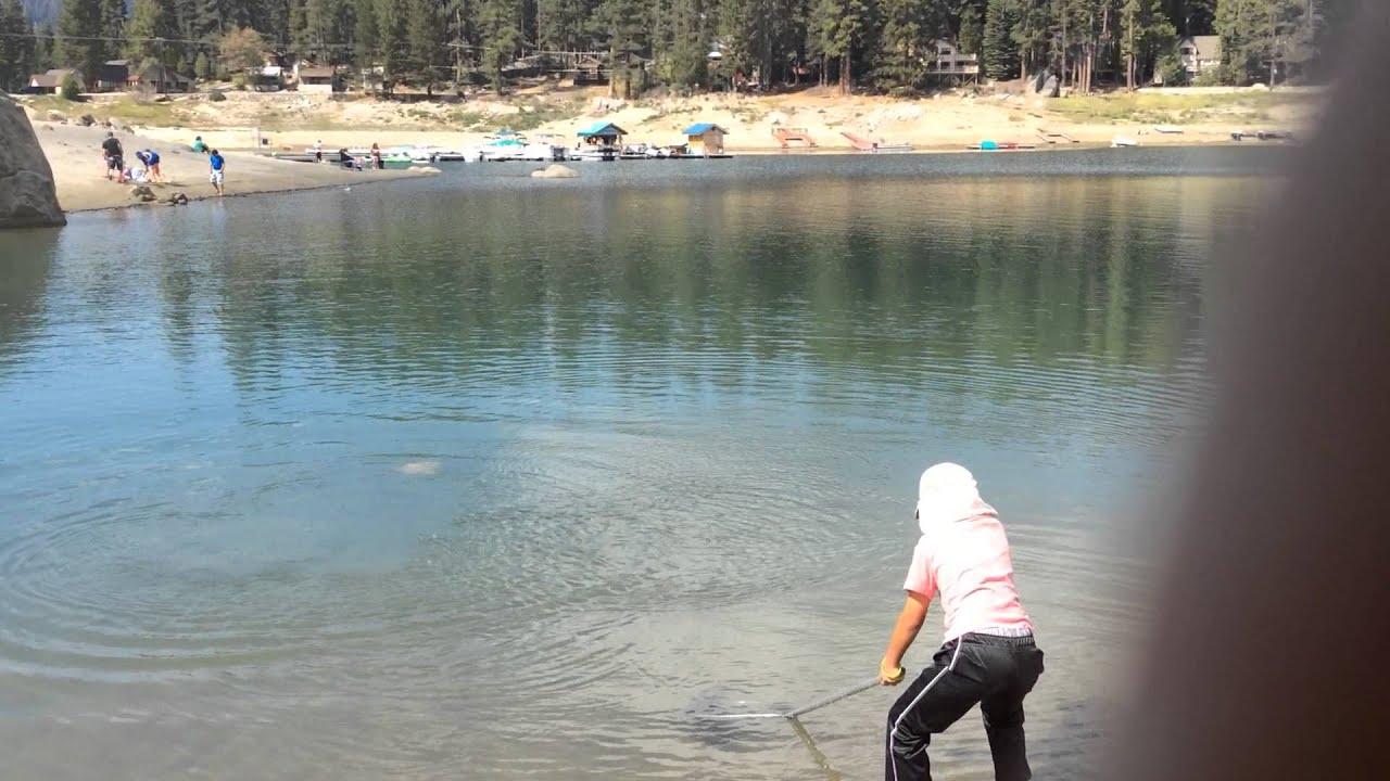 Fishing at shaver lake part 2 youtube for Shaver lake fishing report