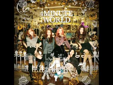 4Minute - 4Minute World 5th Mini Album(FULL ALBUM+DOWNLOAD)