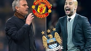 Mourinho Vs Guardiola   Manchester United Vs Manchester City Manchester Derby